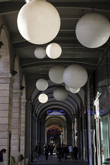 stars are close (Zioluc) Tags: street urban dark torino balls sphere turin luciobeltrami