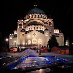 Orthodox #Temple of #SaintSava, #Belgrade #Serbia... (7-bc) Tags: church temple cathedral serbia belgrade orthodox beograd saintsava vracar hramsvetogsave uploaded:by=flickstagram instagram:venuename=hramsvetogsave instagram:venue=2162917 instagram:photo=58050801558181034717785338 igersbelgrade igersbeograd igersserbia