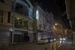 . (Le Cercle Rouge) Tags: street people paris france night belleville human passage rue nuit 75010 humain 75011 ruedufaubourgdutemple lajava
