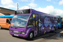 Powells Bus YJ55BJO (Hesterjenna Photography) Tags: bus coach passengers powells shoppers psv rotherham southyorkshire freebee busdepot parkgate optare optaresolo hellaby coachbuilders yj55bjo
