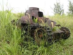 Type 95 Ha-Go Tank 九五式軽戦車 ハ号 in Guam.