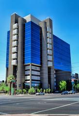 Architectural Beauty in Phoenix (Edward Saksenhaus RPh.) Tags: arizona building phoenix towers structures architectural highrise modernarchitecture