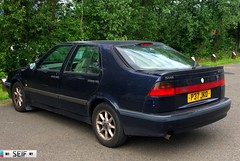Saab 9000 CSE Falkirk 2014 (seifracing) Tags: cars ford scotland nissan cops scottish vehicles toyota emergency peugeot spotting services strathclyde ecosse seifracing