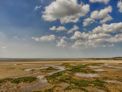 P1070019 (Paul Thickitt) Tags: sea sky beach water clouds island rocks wirral westkirby merseyside hilbre hilbreisland