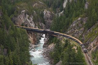 Rocky Mountaineer SB ex-BC Rail Squamish Sub