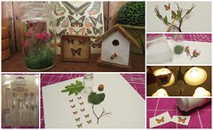 (17) Butterfly Collection Jar Tutorial (Foxy Belle) Tags: scale glass make butterfly garden miniature doll play hand handmade ooak shed barbie birdhouse craft collection jar blythe how 16 tutorial dollhouse potting crafted
