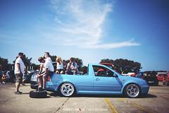 Volkswagen Golf MkIV - BBS RF (Rick Bruinsma) Tags: volkswagen airport ride seat air low nederland rick meeting static audi lowered treffen vag skoda valkenburg zuidholland airride bruinsma perfectstance mivw