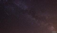 Delta Aquarid Meteor 26/07/2014 (AstroGuiGeek) Tags: sky skyscape stars ciel starry skyatnight meteor toiles starrynight t3i toile milkyway voielacte 600d canonphotography starrysky mtore toil cieltoil toilefilante cieldenuit eos600d canoneos600d deltaaquarids