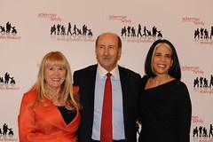 Kathleen O'Neill, Board Chair John O'Neill and President Lois Braverman
