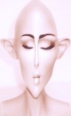 Pink Hindsgaul mannequin with distortion (cherylkerkin) Tags: distortion mannequins display adelrootstein adelrootsteinmannequins facedistortions mannequinmakeup mannequinmakeupartist sampleshindsgaul mannequinmakeups mannequinswitheffects artisticmannequinphotos mannequinmakeupartists mannequinbodypainting