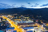 Gatlinburg at Blue Hour (Avisek Choudhury) Tags: longexposure bluehour gitzo greatsmokymountain canon5dmarkiii avisekchoudhury acratechballhead canon2470mmf28ii avisekchoudhuryphotography gatlibnurg
