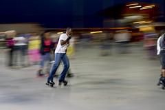 Friday night skating (Thankful!) Tags: night evening harbour hamilton skaters motionblur rollerskater hfg pier8 hamiltonharbour