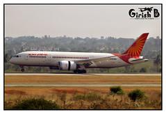 VT_ANB (Girish Bhagnari) Tags: boeing touchdown airindia 787 b787 bengaluru dreamliner runway27 vobl