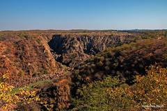 A dry Ruacana Falls