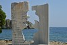(Tiggster) Tags: sculpture lesvos sappho nikond3200 greekisland lesbianicon changingfaces nikon50mm nikon50mm14f greekpoet nikon50mmmacro