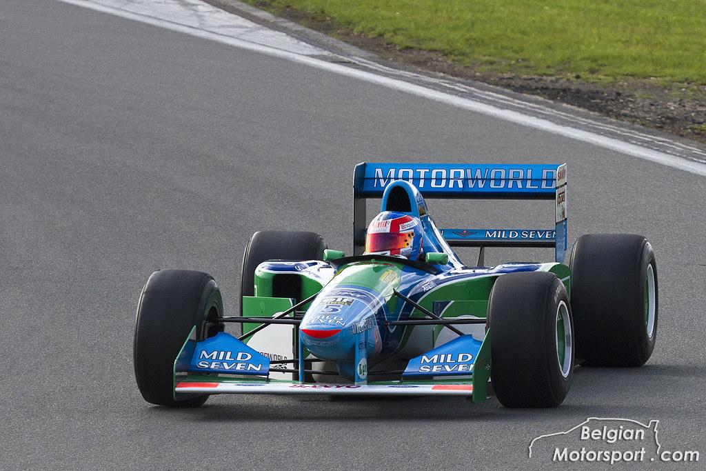 1994 Benetton B194 Belgianmotorsport Tags Classic Ex Race Michael Grand Racing