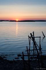 Last light (johanbe) Tags: light sunset sea sun broken last nikon sweden westcoast solnedgng vstkusten kunglv