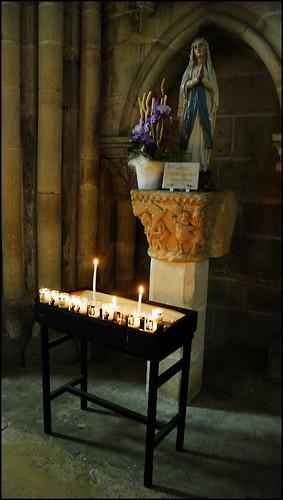 11 - Auvers-sur-Oise Eglise Notre-Dame de l'Assomption Statue de la Vierge