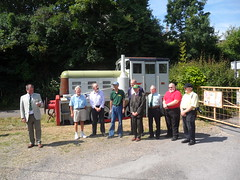 Long-service awards, Swanage 35 gala (DerekTP) Tags: diesel may railway locomotive 35 gala swanage fowler 4210132