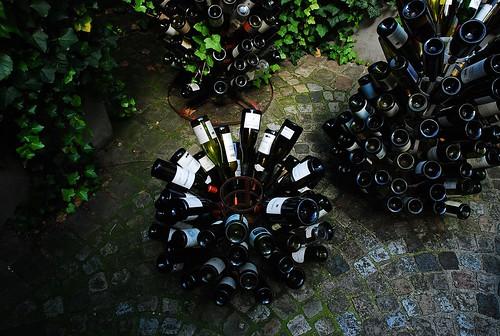 6 - Auvers-sur-Oise Auberge Ravoux Porte-bouteilles