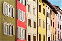 trento (heavenuphere) Tags: city flowers windows red italy architecture outdoors europe italia colours balcony trent shutters trento colourful northern trentino trient 24105mm trentinoaltoadige trentinoaltoadigesdtirol trentinosdtirol