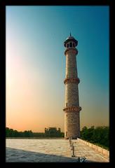 Agra IND - Taj Mahal Minarett 07