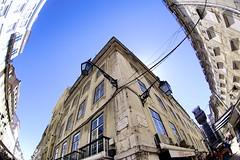Lisboa - Bairro Alto (Eric Beaufils) Tags: fisheye 16mm zenitar lisbonne