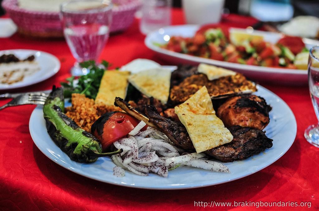 Dinner in Tatvan