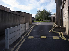 (turgidson) Tags: road park ireland our church car yellow wall lady speed studio lens concrete four lumix prime raw catholic peace 5 g religion cement version double line queen panasonic developer micro pro pancake catholicism carpark wicklow asph f25 bump bray dmc thirds speedbump doubleyellowline vevay m43 14mm silkypix primelens gh2 mirrorless 50450 lumixg ourladyqueenofpeace microfourthirds panasonicgh2 14mmf25 hh014 panasoniclumixdmcgh2 panasonic14mmf25asph silkypixdeveloperstudiopro5 p1270961