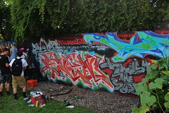 Enem (NJphotograffer) Tags: new graffiti nj fresh jersey graff jam kts trenton 2014 enem