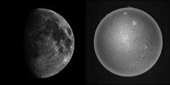 Laboratorium Solaris: meet the Moon (Sergei Golyshev) Tags: sun moon star mond soleil solar space satellite luna system h telescope astrophotography processing astronomy ha coronado universe sonne earths pst   halpha chromosphere        prominance autostakkert astraimage   dmk23u274