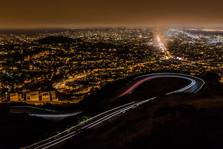 Night View From Twin Peaks