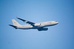 RAF Voyager (Edward Bentley) Tags: uk southwales wales britain military jets newport airbus voyager a330 nato rafvoyager natosummit2014 airbusa330multiroletankertransport