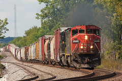 CN 2446 Rugby Jct WI 31 Aug 2014 (Train Chaser) Tags: cn cn2446