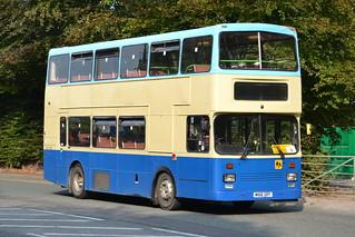 GHA Coaches Scania M168GRY - Poynton, Cheshire