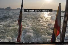 And look back fondly (sinlesstiramisu) Tags: travel nostalgia malaysia waters reminisce boatride cyberjaya lookback choppy