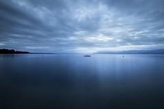 Leman Lake Sunrise 1 (Maximecreative) Tags: longexposure lake canon f28 6d 14mm samyang