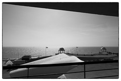 Dear Serge/Cafe Oto @ De La Warr Pavilion, Bexhill-on-sea, 14th September 2014 (fabiolug) Tags: ocean leica uk greatbritain sea sky blackandwhite bw music building geometric monochrome lines architecture clouds blackwhite concert experimental britain geometry live gig wide livemusic performance modernism rangefinder wideangle installation sound monochrom eastsussex biancoenero performances avantgarde installations superwideangle 21mm bexhill bexhillonsea superwide leica21mm delawarrpavilion leicam modernistbuilding erichmendelsohnandsergechermayeff cafeoto superelmar leicasuperelmar21mmf34asph superelmar21mm leicasuperelmar dearserge mmonochrom leicammonochrom leicamonochrom superelmar21mmf34asph leicasuperelmar21mm