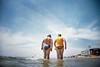 , (Benedetta Falugi) Tags: blue sea summer colour film beach water analog women onthebeach analogue russe 22mm badanti donnine eximus benedettafalugi badantirussebytheitaliansea