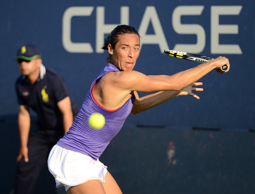 Francesca Schiavone - 2014 US Open (Tennis) - Tournament - Francesca Schiavone