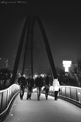 . (FOTO.Michaela) Tags: bridge winter girls white black love boys night fun photography photo nice nikon czech enjoy karolina ostrava 2013 d3100