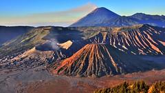 Mt. Bromo, Java (flowerikka) Tags: sunrise indonesia lava java caldera vulcan bromo magma brahma mtsemeru mtbatok nppark