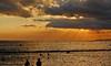 The Sun & Its Rays (Explored 9/7/2014) (jcc55883) Tags: sunset sky silhouette clouds hawaii nikon waikiki oahu horizon rays waikikibeach yabbadabbadoo d40 kalakauaavenue kuhiobeachpark nikond40