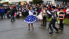 Desfile Chile Barrios en Puerto Montt