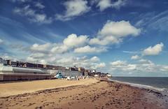Sunny Ramsgate [Explored] (JennTurner) Tags: beach clouds port canon town kent seaside
