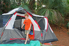 camptent (babyfella2007) Tags: ocean park morning camping boy jason tree beach sc nature night honda garden carson dark outside island fire coast living sand pretty gun child natural state time grant south hunting young it tent palm southern coastal taylor carolina rough van beaufort roughing batesburg