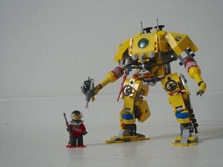 Lego Divers Exo Suit