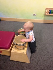 """Playing the Drums • <a style=""""font-size:0.8em;"""" href=""""http://www.flickr.com/photos/109120354@N07/15312119221/"""" target=""""_blank"""">View on Flickr</a>"""