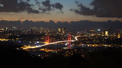 Boaz Kprs (yunusemreaydn) Tags: istanbul boaz kprs turkey europa trkiye bosquare night gece city outdoor
