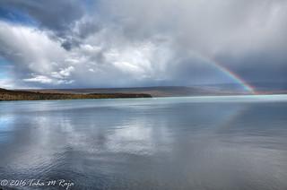 Rainbow over Nakenek